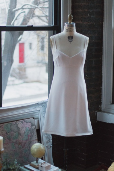 Slip Dress Sunroom