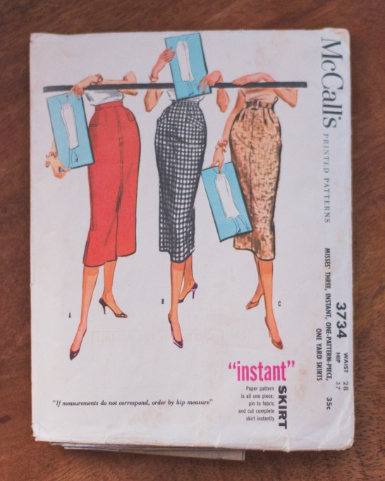 McCalls Pattern 3734